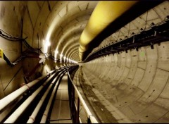 Wallpapers Constructions and architecture le bout du tunnel ?