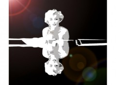 Fonds d'écran Célébrités Femme Marilyne
