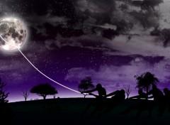 Wallpapers Digital Art Grab the moon
