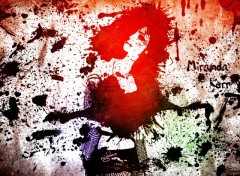 Fonds d'écran Célébrités Femme Miranda Kerr Grunge