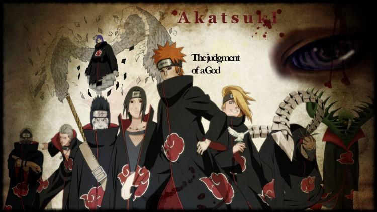 Fonds d'écran Manga Naruto AKATSUKI