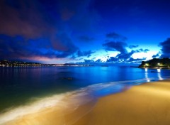 Wallpapers Nature Plage la nuit