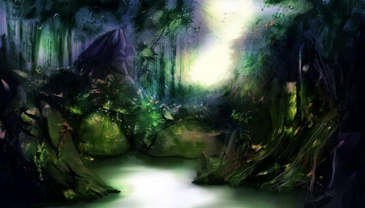 Wallpapers Digital Art Nature - Landscapes Wallpaper N°262350