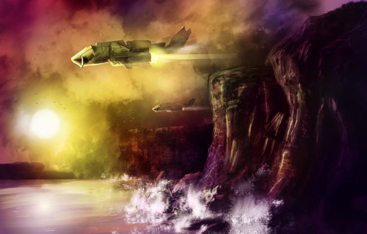Wallpapers Digital Art Science-Fiction - Robots Etherb