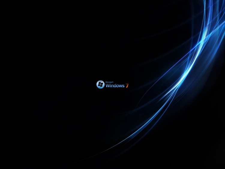 Wallpapers Computers Windows 7 Windows 7 Black Edition