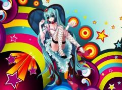 Fonds d'écran Manga Vocaloid Gourmandise