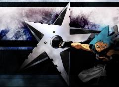Fonds d'écran Manga Black star