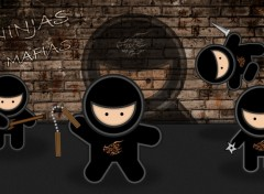 Wallpapers Digital Art Ninjas Mafia