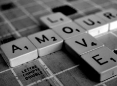 Wallpapers Digital Art SCRABBLE LOVE