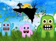 Wallpapers Digital Art Monster