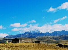 Fonds d'écran Voyages : Asie Chine , Sichuan , Kam, région du Tibet oriental