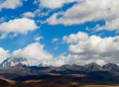 Wallpapers Trips : Asia Chine , Sichuan , Kam, région du Tibet oriental , Tagong