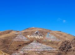 Fonds d'écran Voyages : Asie Chine , Sichuan , Kam, région du Tibet oriental , Tagong