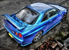 Wallpapers Cars Nissan Skyline R34 GTR V-spec II hdr
