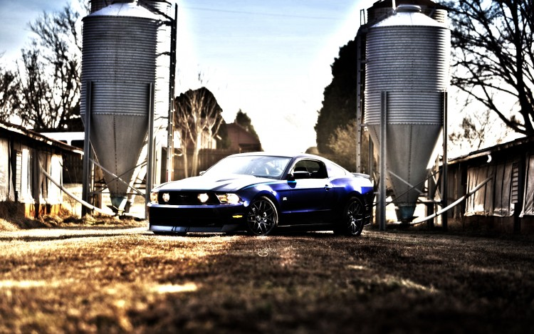 Wallpapers Cars Ford Mustang HDR