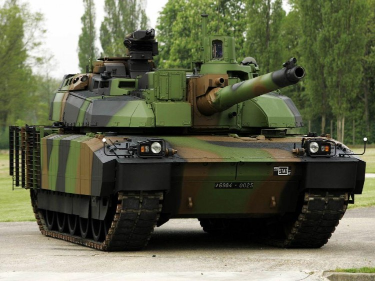 Wallpapers Various transports Tanks AMX-56 LeClerc