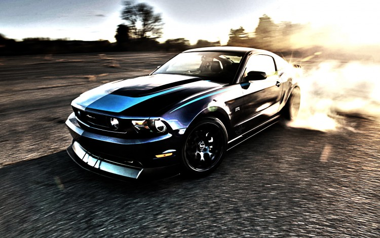 Fonds d'écran Voitures Ford Mustang RTR HDR