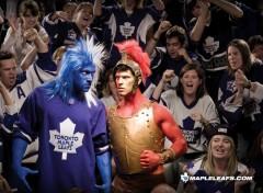 Fonds d'écran Sports - Loisirs Leafs Versus Senators
