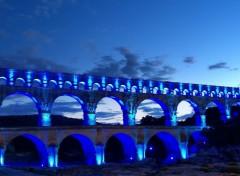 Wallpapers Trips : Europ Le groupe F au Pont du gard (30)
