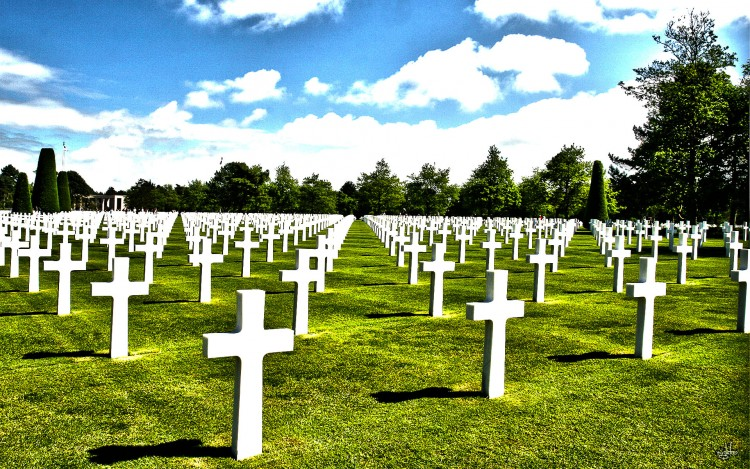 Wallpapers Trips : Europ France > Normandie Normandy American Cemetery and Memorial