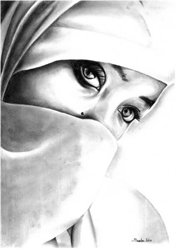 Fonds d'écran Art - Crayon Portraits Wallpaper N°263457