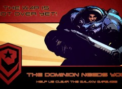 Fonds d'écran Jeux Vidéo The Dominion Needs You!