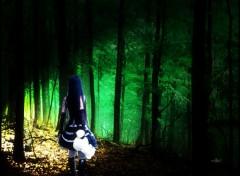 Wallpapers Digital Art Alone in the Dark