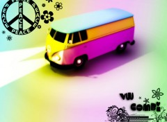 Wallpapers Digital Art VW Combi
