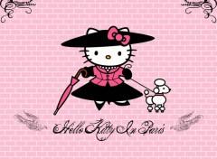 Fonds d'écran Dessins Animés Hello Kitty in Paris