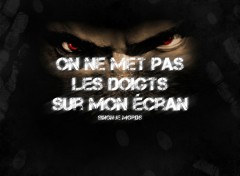 Wallpapers Humor Bas les pattes