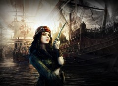 Wallpapers Fantasy and Science Fiction My PirateGirl