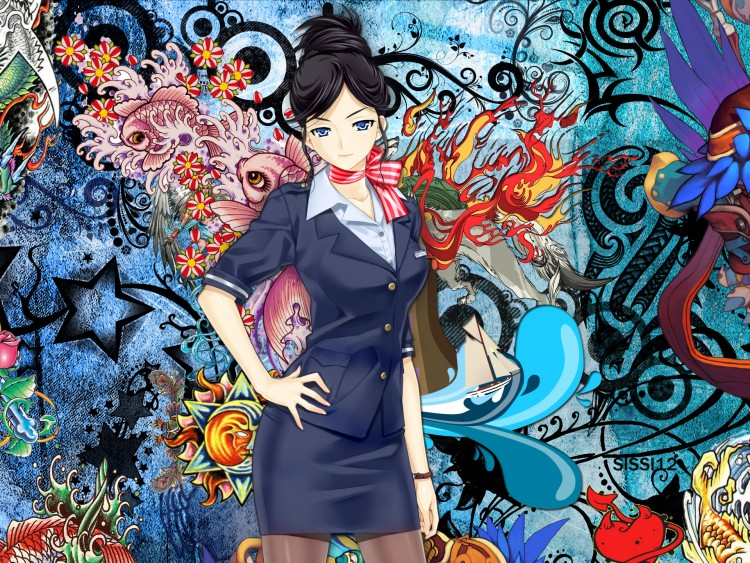 Wallpapers Digital Art Women - Femininity Girl
