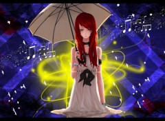 Wallpapers Manga ~ Girl with Umbrella ~