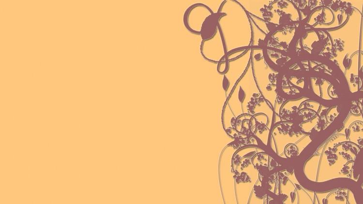 Fonds d'écran Art - Numérique Abstrait Plantes grimpantes