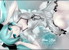 Wallpapers Manga Hatsune Miku Dream