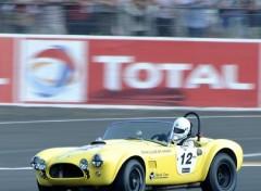 Fonds d'écran Voitures AC Cobra au Mans Classic 2010