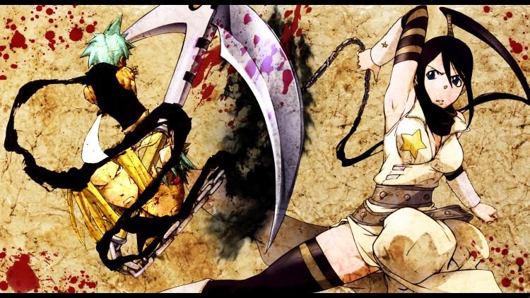 Fonds d'écran Manga Soul Eater ~ BlackStar & Tsubaki ~