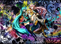 Fonds d'écran Manga Vocaloiide!!