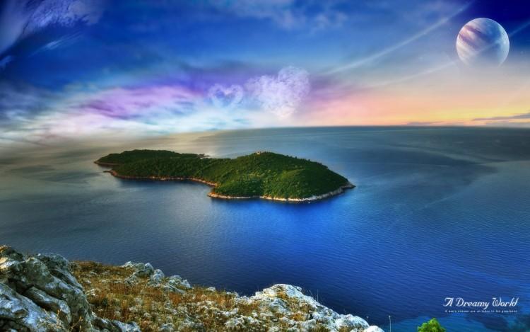 Wallpapers Nature Paradisiac Islands Dream Island