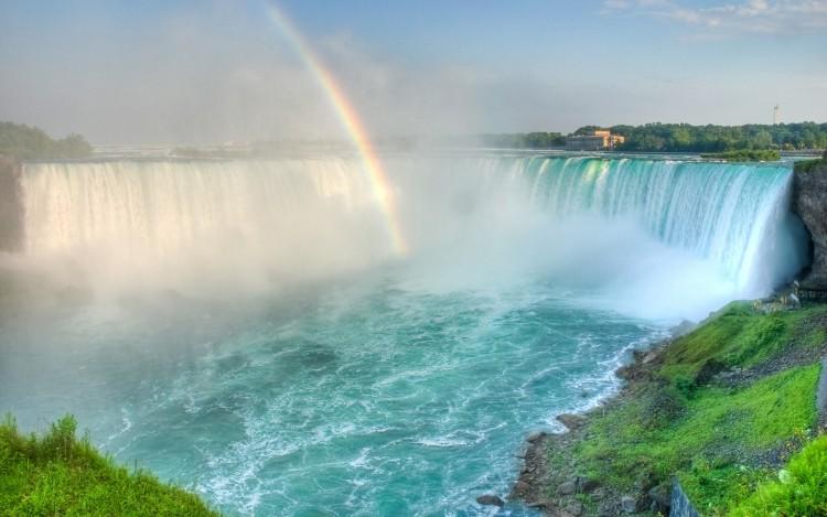 Fonds d'écran Nature Arcs-en-ciel Rainbow