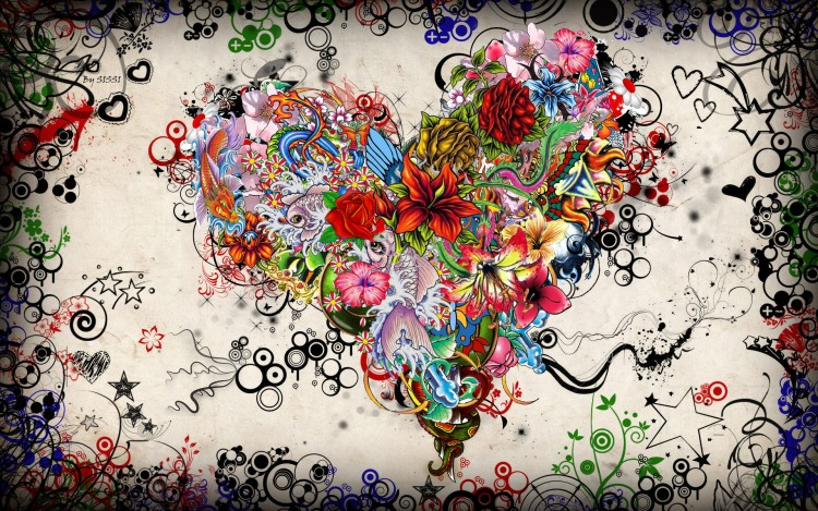 Wallpapers Digital Art Love - Friendship Coeur.