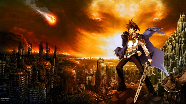 Wallpapers Manga Chrome Shelled Regios Apocalypse Regios