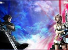 Fonds d'écran Jeux Vidéo Final Fantasy XIII 2.0