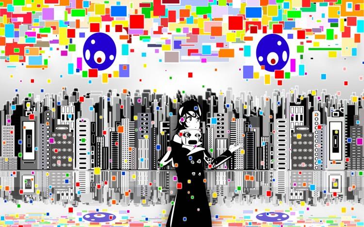 Wallpapers Manga Miscellaneous Digital Rain