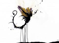 Fonds d'écran Art - Numérique Le Papillon chose