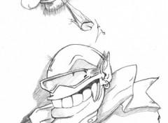 Fonds d'écran Art - Crayon Trolls