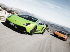 Fonds d'écran Voitures lamborghini Gallardo LP570-4 Superleggera