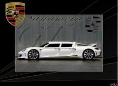 Fonds d'écran Voitures Porsche panamera limousine concept GT