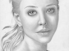 Fonds d'écran Art - Crayon Amanda Seyfried