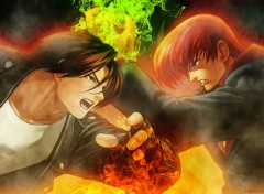 Wallpapers Video Games Kyo vs Iori